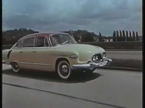 """I Heard Tatras (Tatra 603 'Happy Journey' promo film, re-edited to David Holmes' """"I Heard Wonders"""")"""