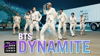 Download lagu BTS: Dynamite