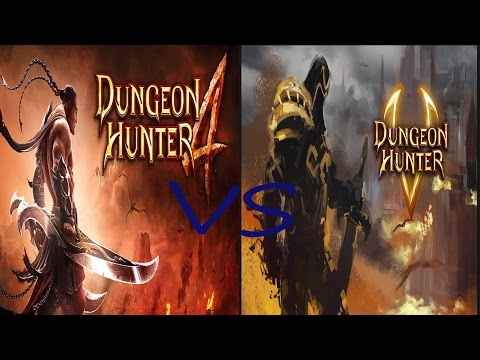 Dungeon Hunter  5 Vs Dungeon Hunter 4