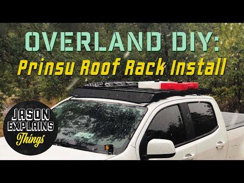 OVERLAND DIY: Prinsu Roof Rack Install & Review / Chevy Colorado