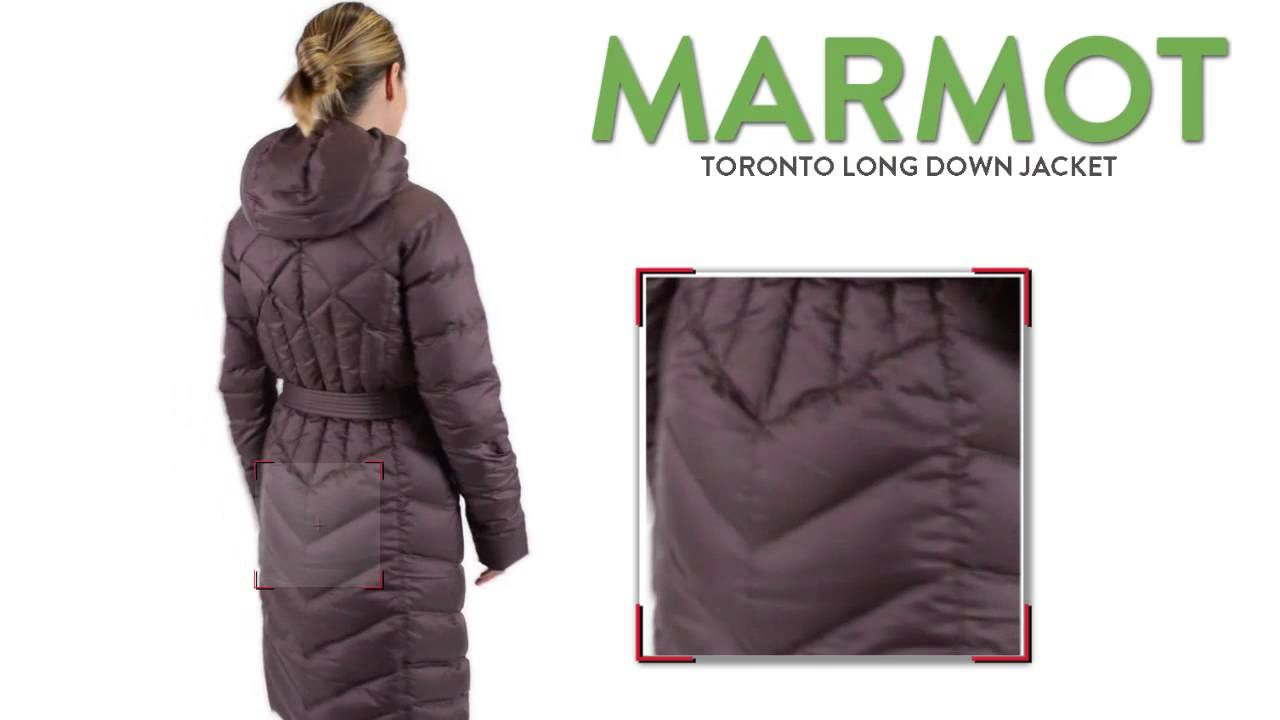 Marmot Toronto Long Down Jacket 700 Fill For Women