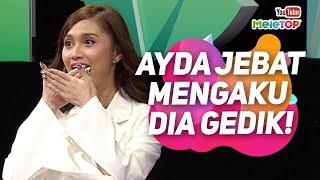 Ayda Jebat tak temberang mengaku dia gedik | MeleTOP | Scha Alyahya & Awal Ashaari