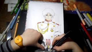 Drawing Ichinose Guren (Owari no Seraph)