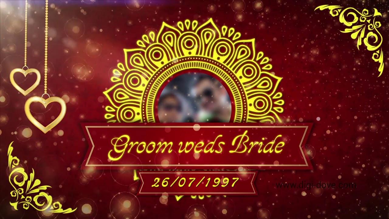 Sri Ganesh MRMP015V00   DigiDove   Digital invitation for wedding ...