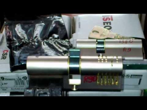 Взлом отмычками EVVA R90  ISEO R90 & ISEO R9 ROTOR PICK® (ISEO R90 & ISEO R9 ROTOR PICK® --locksmith tools Lo strumento solo per meccanica!!! The tool only for lock