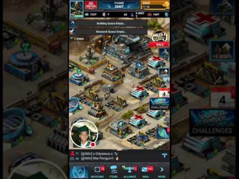 Mobile Strike 101 - Enhancing Warlord Gear