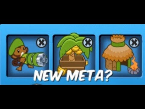 BTD Battles | Trying the New Meta Layout