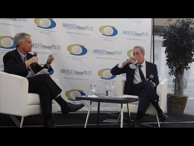 1/10/17 Amb. Michael Froman's Final Keynote Speech as USTR: Armchair Discussion with Bruce Stokes