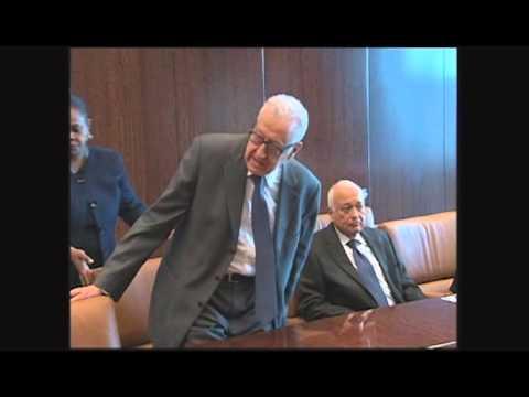Brahimi meeting in NYC 22April13