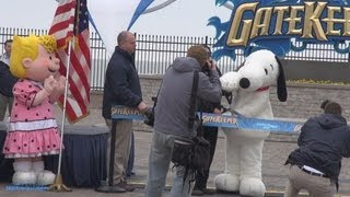 GateKeeper Ribbon Cutting Opening Day Cedar Point 2013