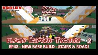SFG - Roblox - Lumber Tycoon 2 - EP48 - Neuer Basisbau - Treppen und Straße!