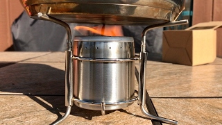 Out-d Ultralight mini Stainless Steel Spirits Alcohol Stove Camping Stove review