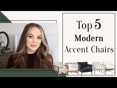 Top 5 Modern Accent Chairs