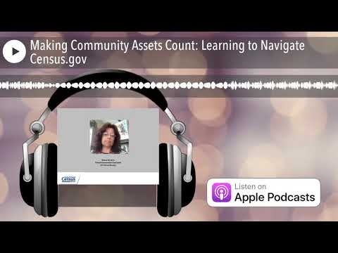 Making Community Assets Count: Learning to Navigate Census.gov