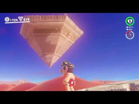 Sand Kingdom - Moon 76: On The Eastern Pillar - Super Mario Odyssey