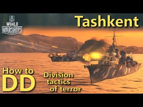 World of Warships: How to DD | Division tactics of terror