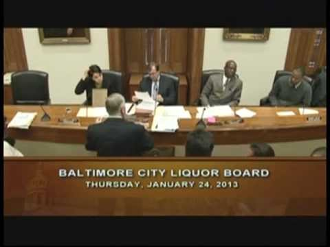 Board of Liquor License Commissioners for Baltimore City: Exile Fells Point