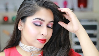 Red Makeup Tutorial | Valentines Day Makeup Tutorial 2017