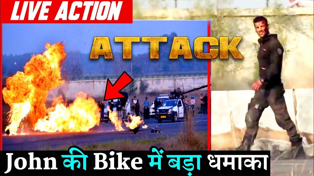 Download Attack John Abraham Live Bike Blast Scene Shooting