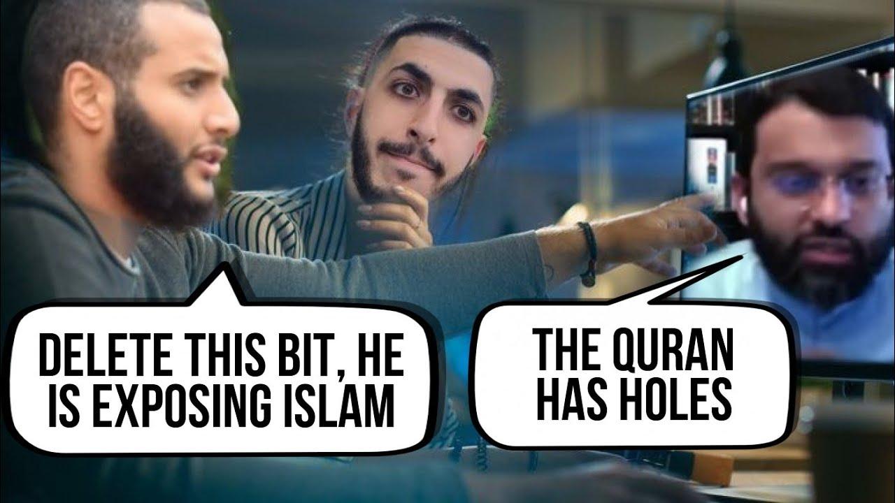 Christian Prince - Muhammad Hijab (The video editor) at War with Dr Yasir Qadi, you will be Refuted