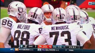 Is Tony Romo from the Future. He has to be Right. Successfully Calls the Raiders play
