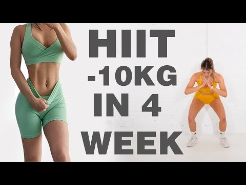 1200 Calorie, 30 Phút Cường Độ Cao | Giảm 10 Kg Trong 4 Tuần | Giảm Cân Nhanh Hiệu Quả Trong 4 Tuần