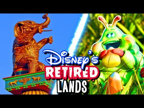 Top 7 Disney Parks Retired Lands