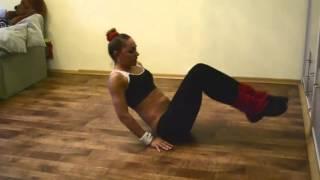 Фитнес тренировка Body Slim  Растяжка дома