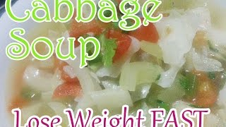 Cabbage Soup for FAST WEIGHT LOSS | Effective in 1 Week