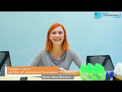 20181028 China Start Testimonial: Elena Matveeva