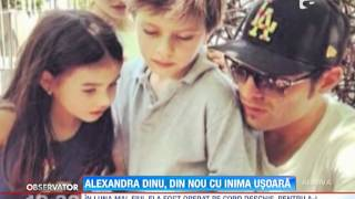 Fiul Alexandrei Dinu s-a refacut perfect dupa operatia pe cord deschis