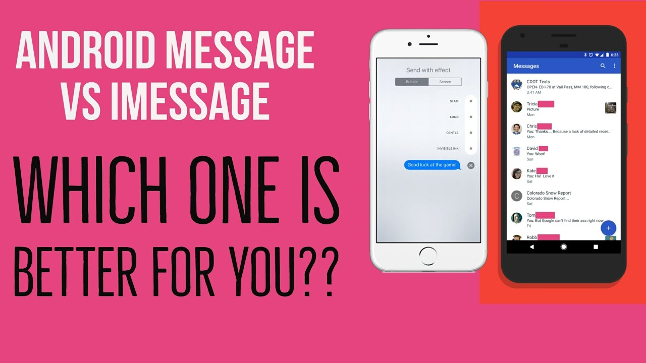 Android Message vs iMessage | Which One is For You?