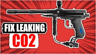How to Fix CO2 Leaking Down Barrel on Paintball Gun or Marker