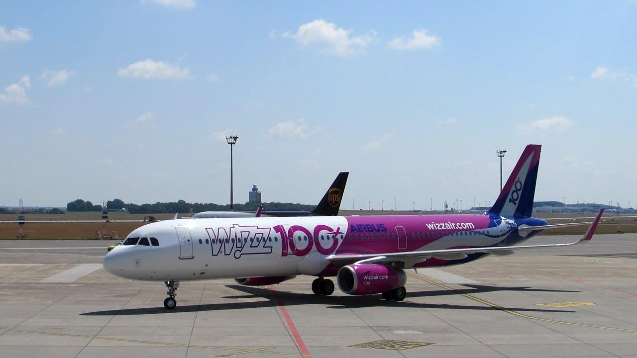 2b7176502410 Wizz Air légitársaság századik Airbusza két videónkon és fényképeken -  Repülni Jó