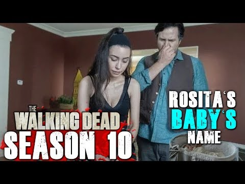 The Walking Dead Season 10 - Rosita's Baby's Name Revealed!