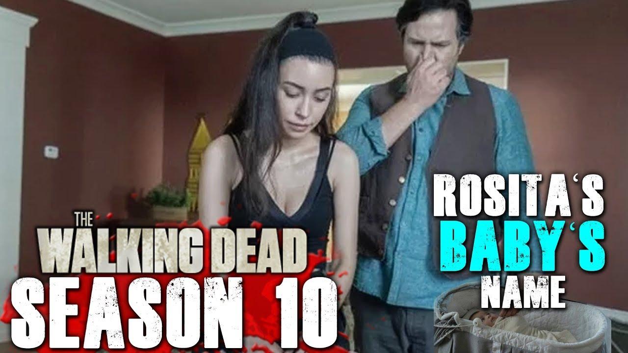 The Walking Dead Season 10 Rosita S Baby S Name Revealed