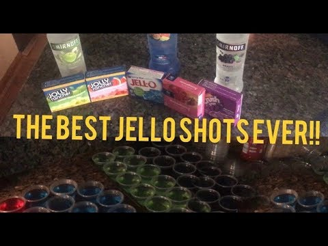 How To Make Jello Shots- Fast, Simple, Tasty