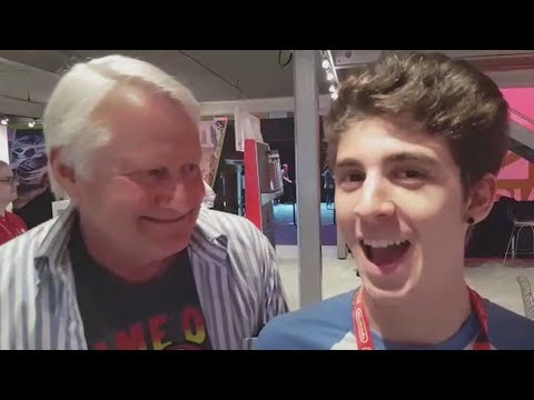 FAVIJ INCONTRA LA VOCE DI SUPER MARIO! (E3 2017)
