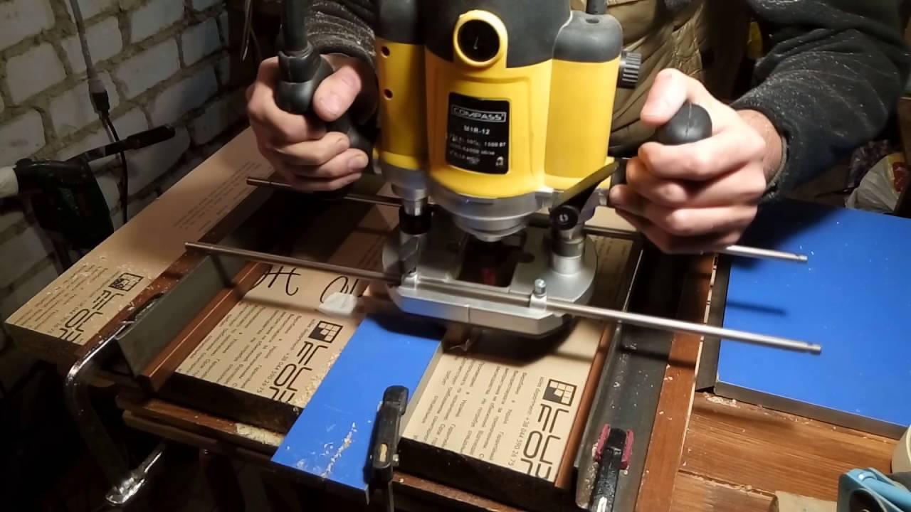 Изготовление станка для заточки ножей на рейсмус. The production .