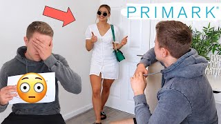 FIANCE RATES MY PRIMARK OUTFITS...
