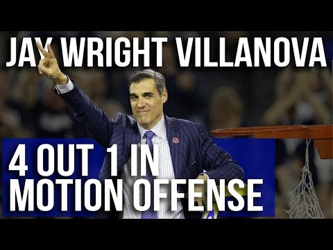 Villanova Wildcats Jay Wright Motion Offense - Film Room