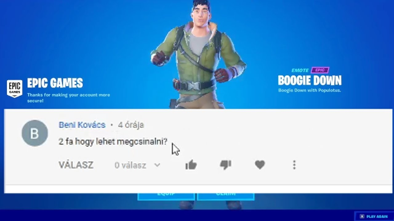 Fortnite 2FA (Two-Factor Authentication) - YouTube