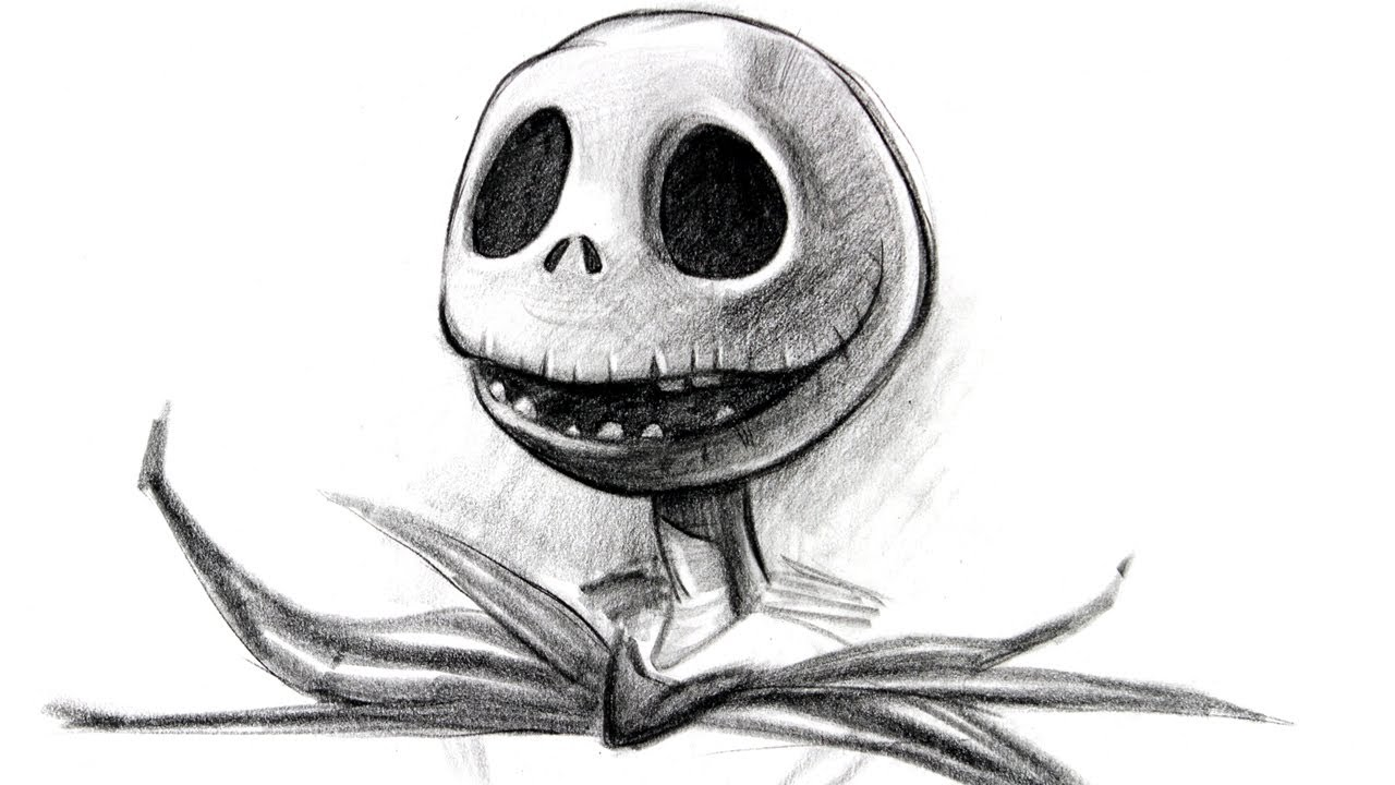 Draw Jack Skellington - Halloween Special - YouTube