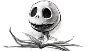 Draw Jack Skellington - Halloween Special