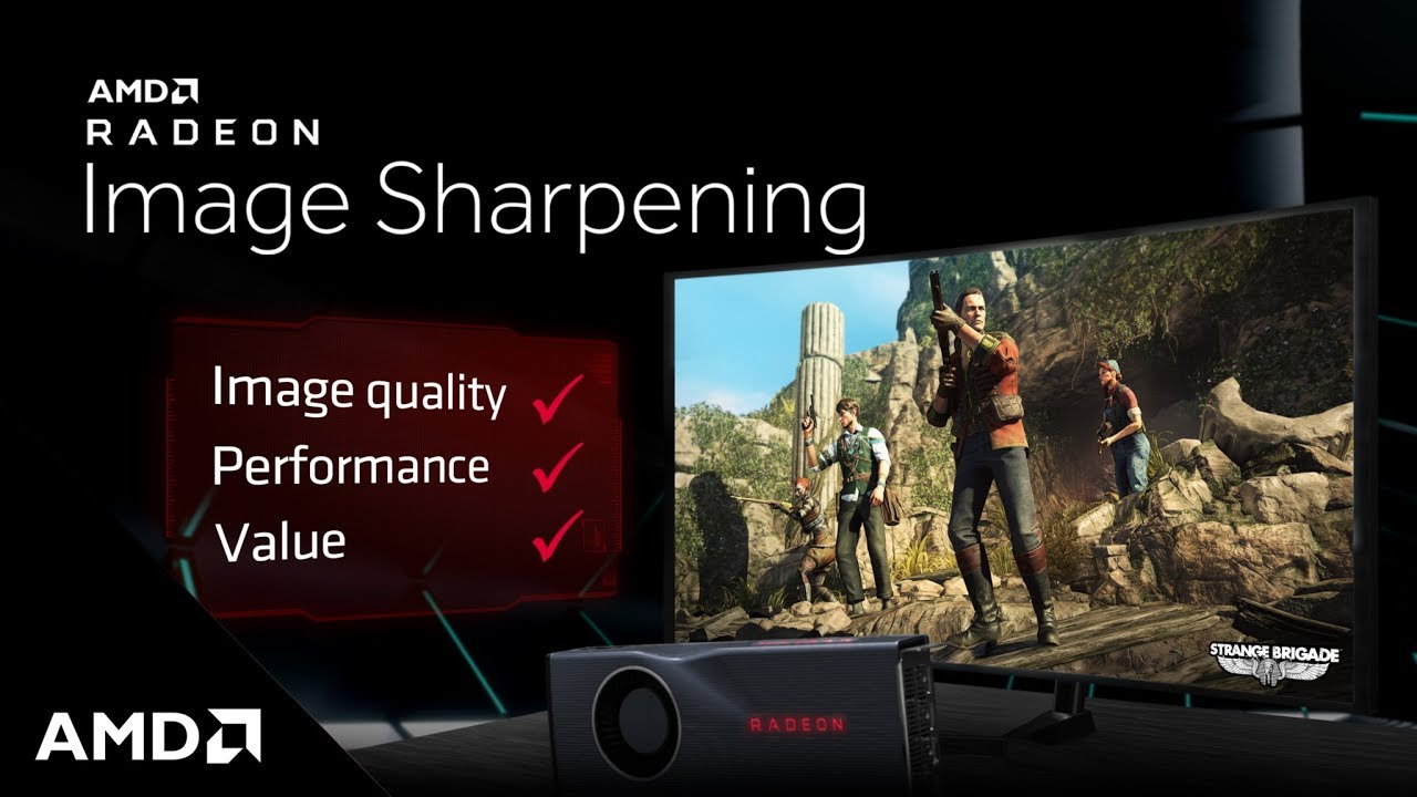 AMD Radeon™ Image Sharpening | AMD