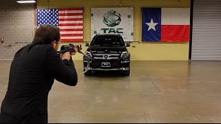 This Is What It's Like To Be Shot At With An AK-47 In A Mercedes-Benz!