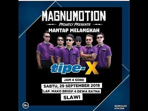 Konser Tipe X Magnumotion Slawi 29 September 2018