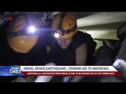 Israel Sends Aid To Earthquake, Tsunami Stricken Indonesia - Oct. 4, 2018