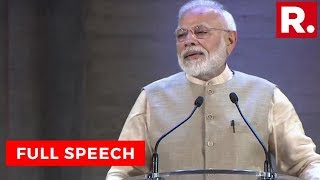Watch PM Modi Addresses Indian Diaspora At The UNESCO Headquarters In Paris, France   Full Speech