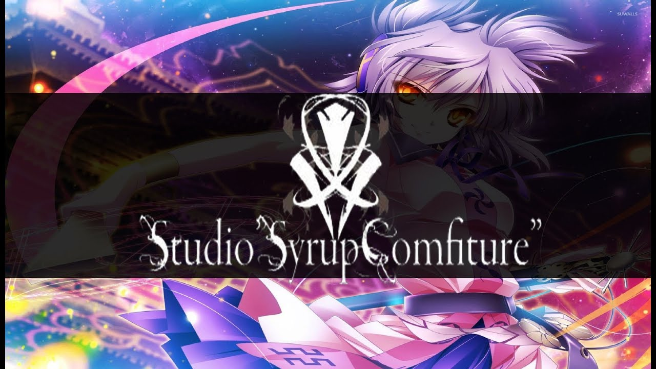 Touhou - Camouflage - White Clear (Syrup Comfiture)